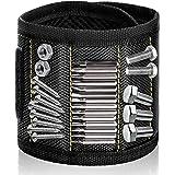 Wristband Magnético Con Los 15 Imanes Fuertes Magnético Pulseras para Ahorra las Manos Fija Fácilmente Tornillos Clavos Broca