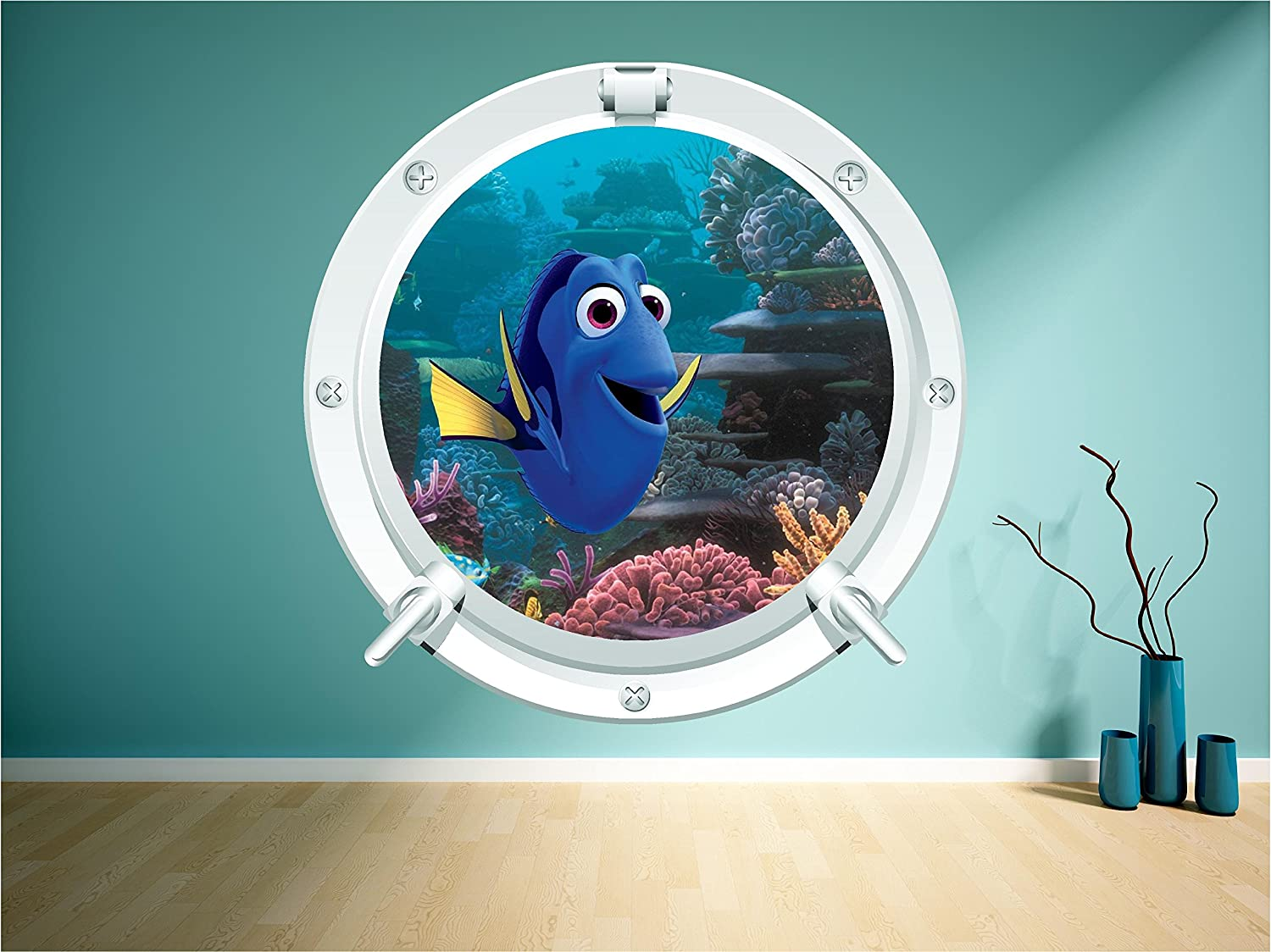 Finding Dory Porthole Nemo Movie Sea Wall Art Sticker Decal Kids Print  Mural (Large 60cm X 60cm): Amazon.co.uk: Kitchen U0026 Home Part 72