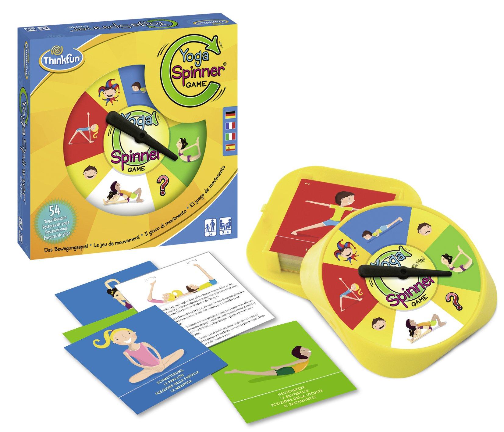 Ravensburger-76329-ThinkFun-Yoga-Spinner-Spiel-Smart-Game