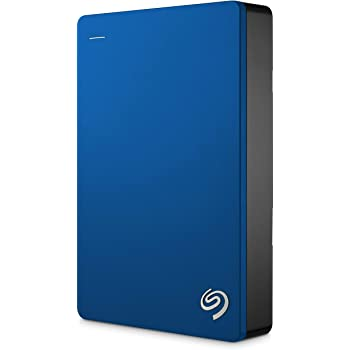 Seagate 4TB Backup Plus (Blue) USB 3.0 External Hard Drive for PC/Mac with 2 Months Free Adobe Photography Plan & Kaspersky Antivirus 1 Year Subscription