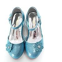 ELSA & ANNA® Ragazze Principessa Regina delle Nevi Gelatina Partito Scarpe Sandali BLU11-SH