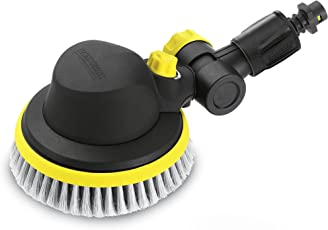 Karcher Wb100 Plastic Wash Brush for Pressure Washers (Black and Yellow)