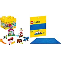 Lego Creative Bricks with Blue Baseplate
