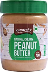 Ruparel's Natural Peanut Butter Creamy (400g)