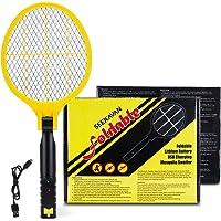 Seekavan Raquettes Electriques Anti-Moustiques, Débarrasser des Moustiques Rechargeable par USB avec Trois Couches de…