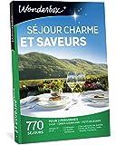 Wonderbox - Coffret cadeau couple - SÉJOUR CHARME ET SAVEURS - 770 séjours gourmands en hotels 3 et 4 étoiles, châteaux et belles demeures, péniches, yourtes, cabanes