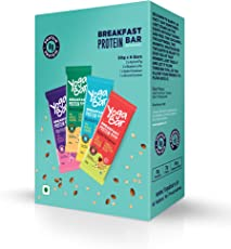 Yogabars - Breakfast Protein Bars (Variety Box, Pack of 6)