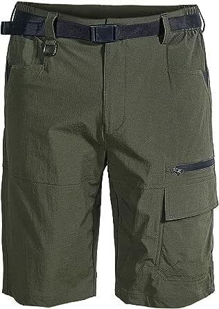 Mr.Stream Uomo Bermuda Pantaloncini Leggeri asciutti Quick Dry estensibili Outdoor Traspiranti Elasticità Pantaloni da Jogging Cargo Shorts