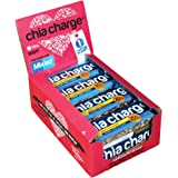 Chia Charge Vegan Protein Bar - 20g Protein - Wheat Free - No Gluten - Dairy Free – High Protein Snacks - Mixed Salted Caramel and Cocoa, 10 x 60g
