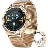 AIMIUVEI Smartwatch, Reloj Inteligente Impermeable 67 con Pantalla Táctil Completa, Pulsómetro, Monitor de Sueño, 7 Modos de