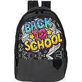 DUSSLE DORF Polyester 15 Liters,Casual Water Resistant Nursery/Kids/Student/for Children's/Boys/Girls Backpack, School Bag wi