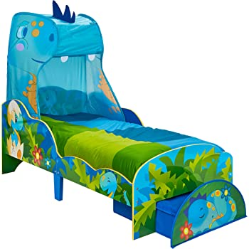 Hello Home Toddler Bed with Canopy and Storage, One Size