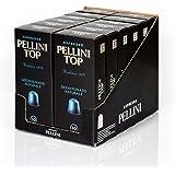 Pellini Top Caffè Arabica 100%, Decaffeinato Naturale, Capsule Compatibili Nespresso, Compostabili e Autoprotette, 12 Astucci da 10 Caspsule, 120 Capsule