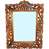 The Hanger Mango Wood Antique Mirror Frame