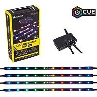 Ambra 2x30cm Top LED LED Vano Piedi//Interna Striscia Illuminazione Strisce