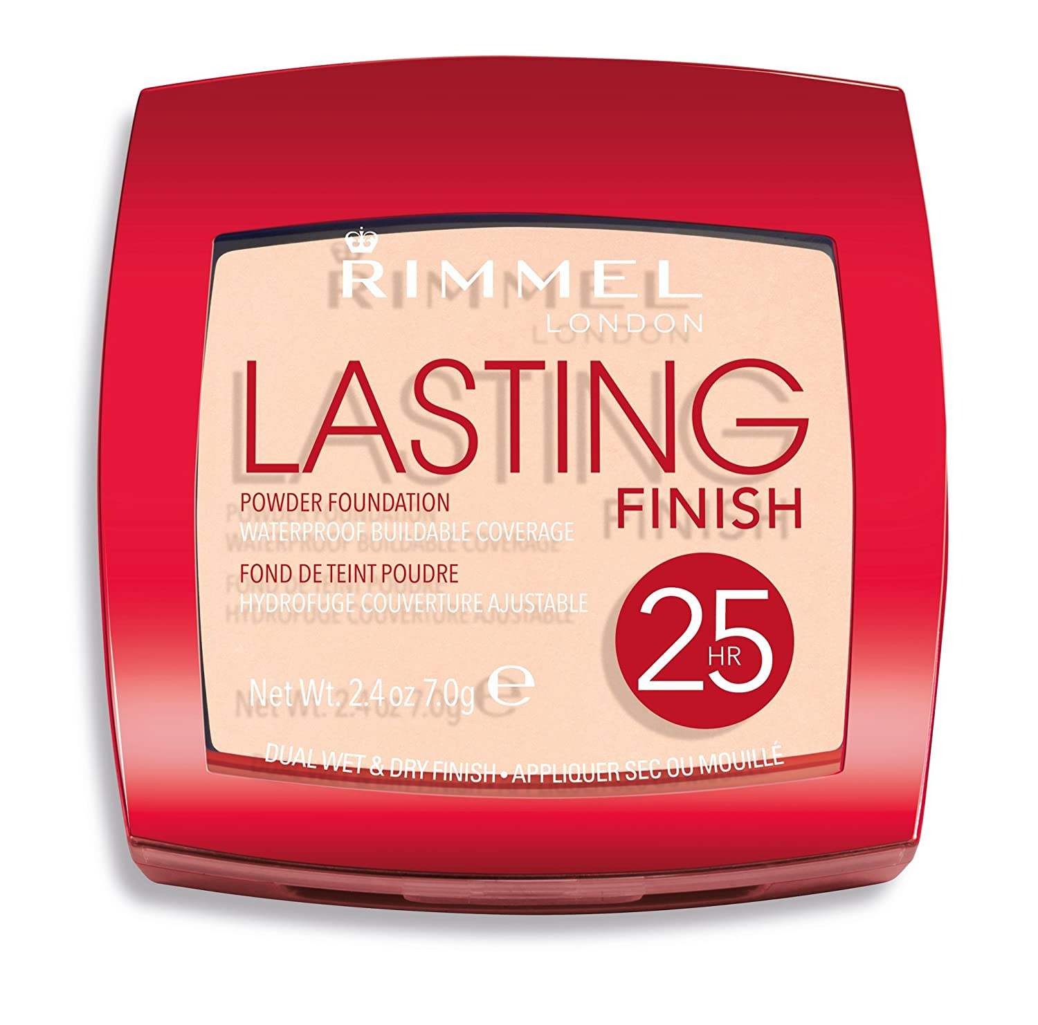 Rimmel Lasting Finish 25 Hour Powder Number 002, Soft Beige: Amazon.co.uk: Beauty