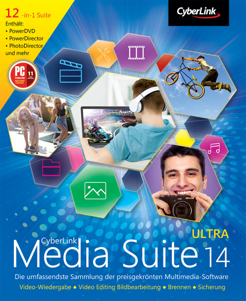CyberLink Media Suite 14 Ultra [Download]