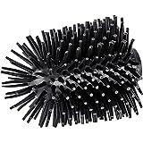 WENKO 22242100 Vervangende borstelkop voor wc-garnituren Siliconen - Vervangende toiletborstel, Siliconen, 7,5 x 9,3 x 7,5 cm