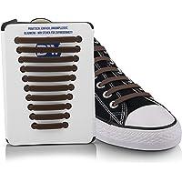 Blauwerk® Silikon Schnürsenkel - elastische Schnürsenkel für Kinder und Erwachsene - Schnürsenkel ohne binden - Gummi…