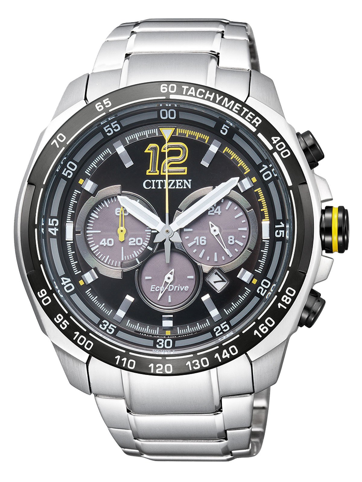 Citizen Analog Black Dial Men's Watch-CA4234-51E