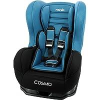 Siège auto COSMO groupe 0/1 (0-18kg), avec protection latérale, fabrication française - Nania Luxe bleu