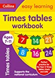 Times Tables Workbook Ages 7-11: Prepare for school with easy home learning (Collins Easy Learning KS2)