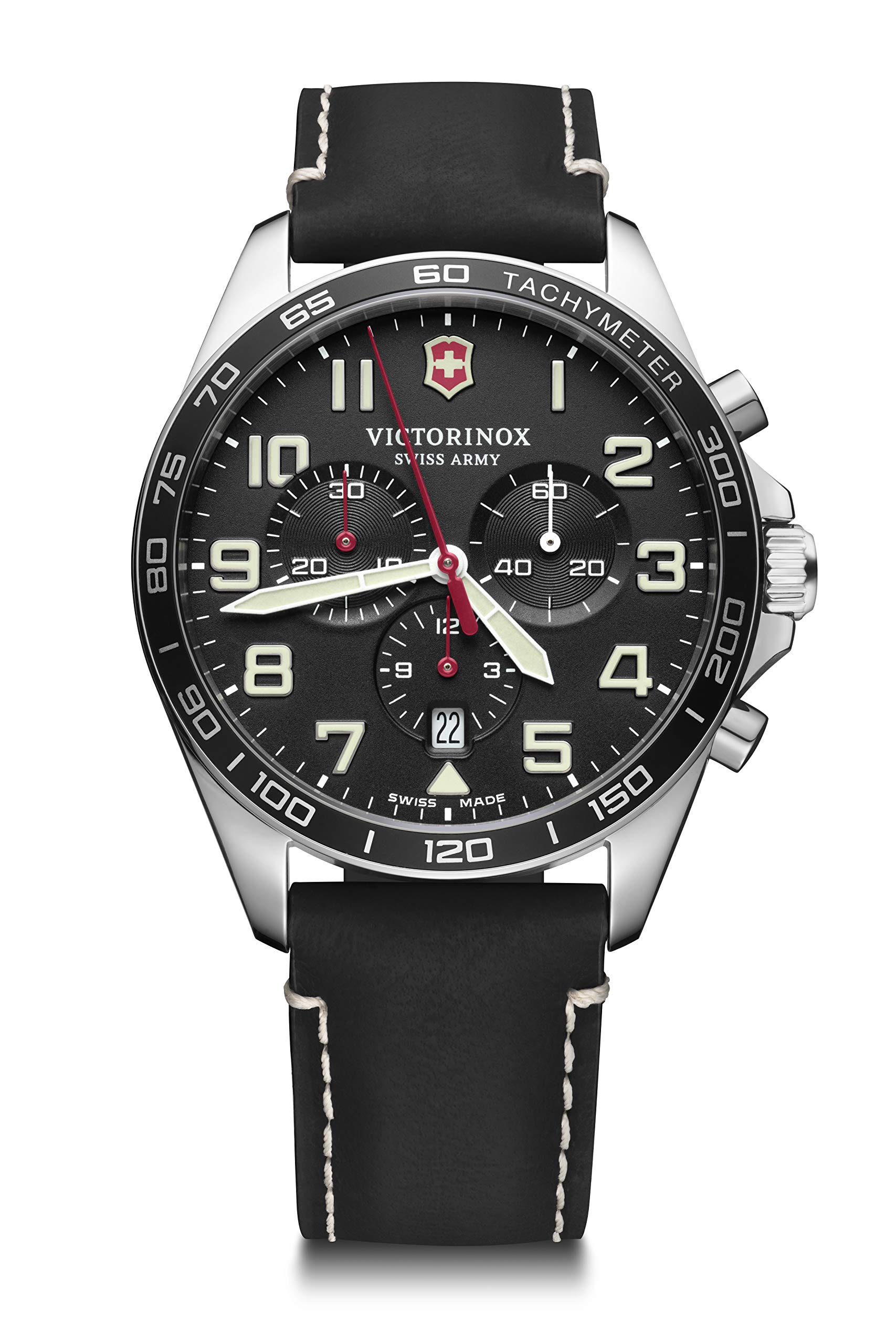Victorinox Men's Field Force Chronograph – Swiss Made Analogue Quartz Stainless Steel Watch 241852