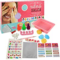 Ekta Nail Style Salon Kit For Girl Kids 8+ Years/ Birthday Gift For Girls