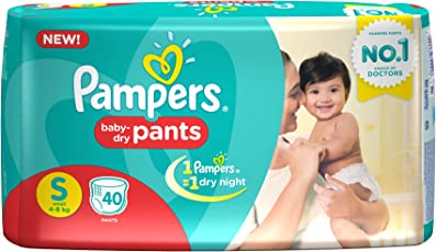 Pampers Small Size Diaper Pants (40 Count)