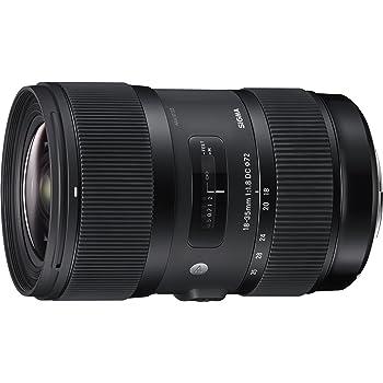 Sigma 18-35mm F1,8 DC HSM Art Objektiv (72mm Filtergewinde) für Nikon Objektivbajonett