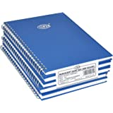 FIS 5-Piece Spiral Manuscript Notebook Set, 5 mm Square Lines With Spiral, A5 (148 x 210 mm) Size, (5x96 Sheets) - FSMNA52Q5M