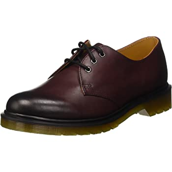 23b9d52d228 Dr. Martens Unisex Adults  1461 Cherry Red Antique Temperley Derbys
