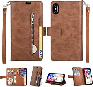 Artfeel Hülle Für Iphone Xs Max Flip Brieftasche Hülle Elektronik