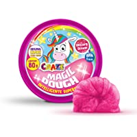 CRAZE Magic Dough Intelligent Pte Unicorn 80G en Gluten D'étain sans BPA Glitter 58917 Rose