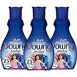 Downy Antitab Fabric Softener, 1 Liter - Pack of 3