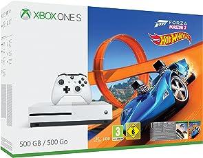 Xbox One S 500GB Konsole + Forza Horizon 3 + Hot Wheels Bundle