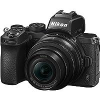 Nikon Z50 + Z DX 16-50 VR + Lexar SD 64 GB Fotocamera Mirrorless, CMOS DX da 20.9 MP, Sistema Hybrid-AF, Mirino…