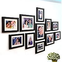 Ajanta Royal Classic Set Of 11 Individual Photo Frames (8-6X8 & 3-8X10) : A-78A (Black)