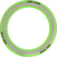 Air Max Flex Grip Ring Flyer Green Frisbee Round Flying Disc Toy