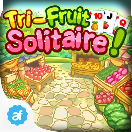 Tri-Fruit Solitaire (Spiel Solitaire Golf)