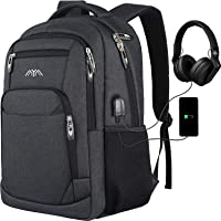 Rucksack Herren Schulrucksack, für 15.6 Zoll Laptop Rucksack Arbeit Wasserdicht Business Daypacks Jungen Teenager mit…