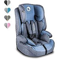 Lionelo Nico Kindersitz 9-36kg Kindersitz Auto Gruppe 1 2 3 Seitenschutz 5-Punkt Sicherheitsgurt abnehmbare Rückenlehne…