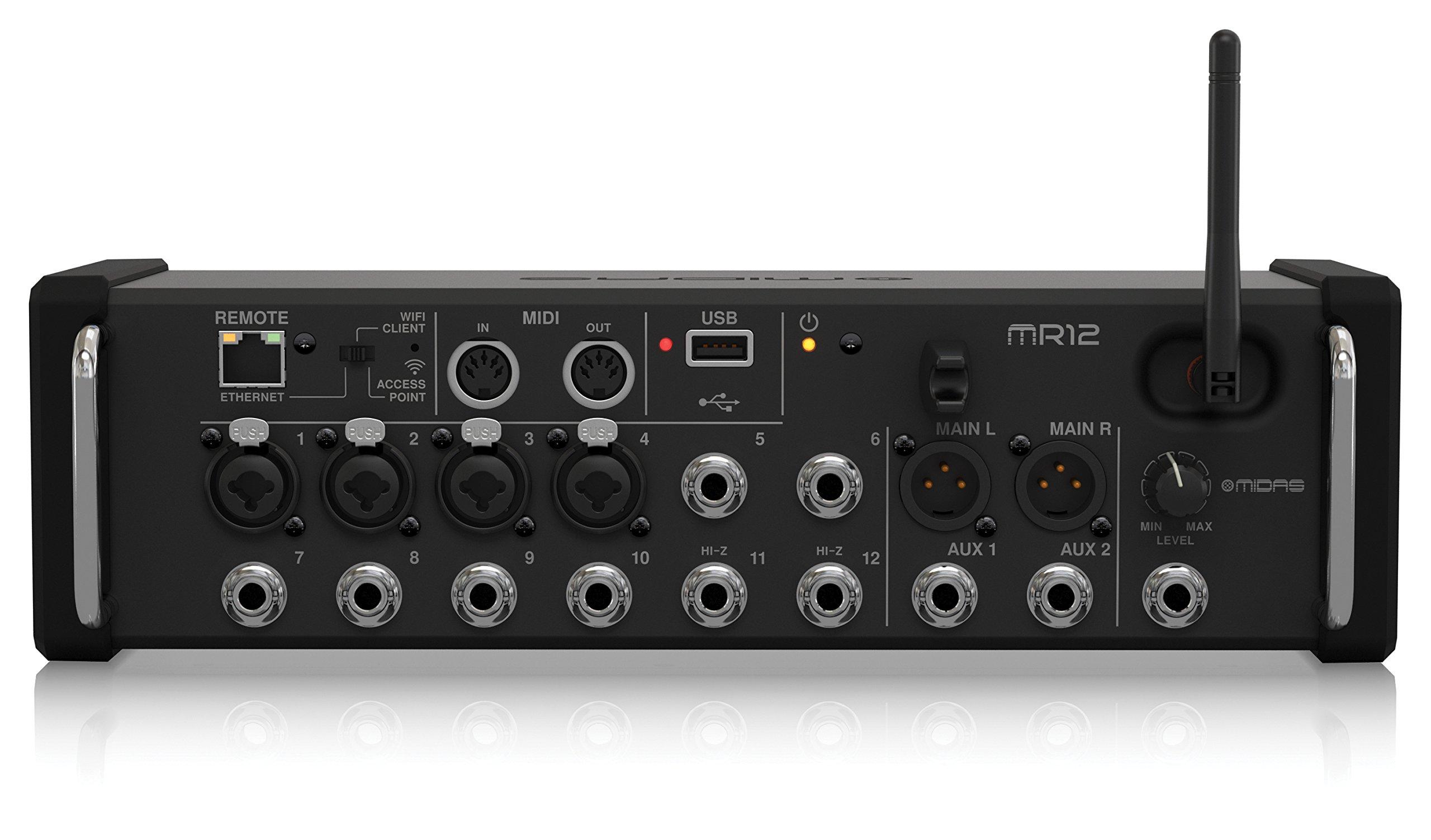 Midas MR12Digital mixer