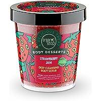 Organic Shop Body Desserts Deep Cleansing Body Scrub Strawberry Jam 450ml