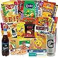 Süssigkeiten aus verschiedenen Ländern   27 x Süßigkeiten Mix   USA Box   Asia, Russia, Arabic Schokolade   Party Box   Snack