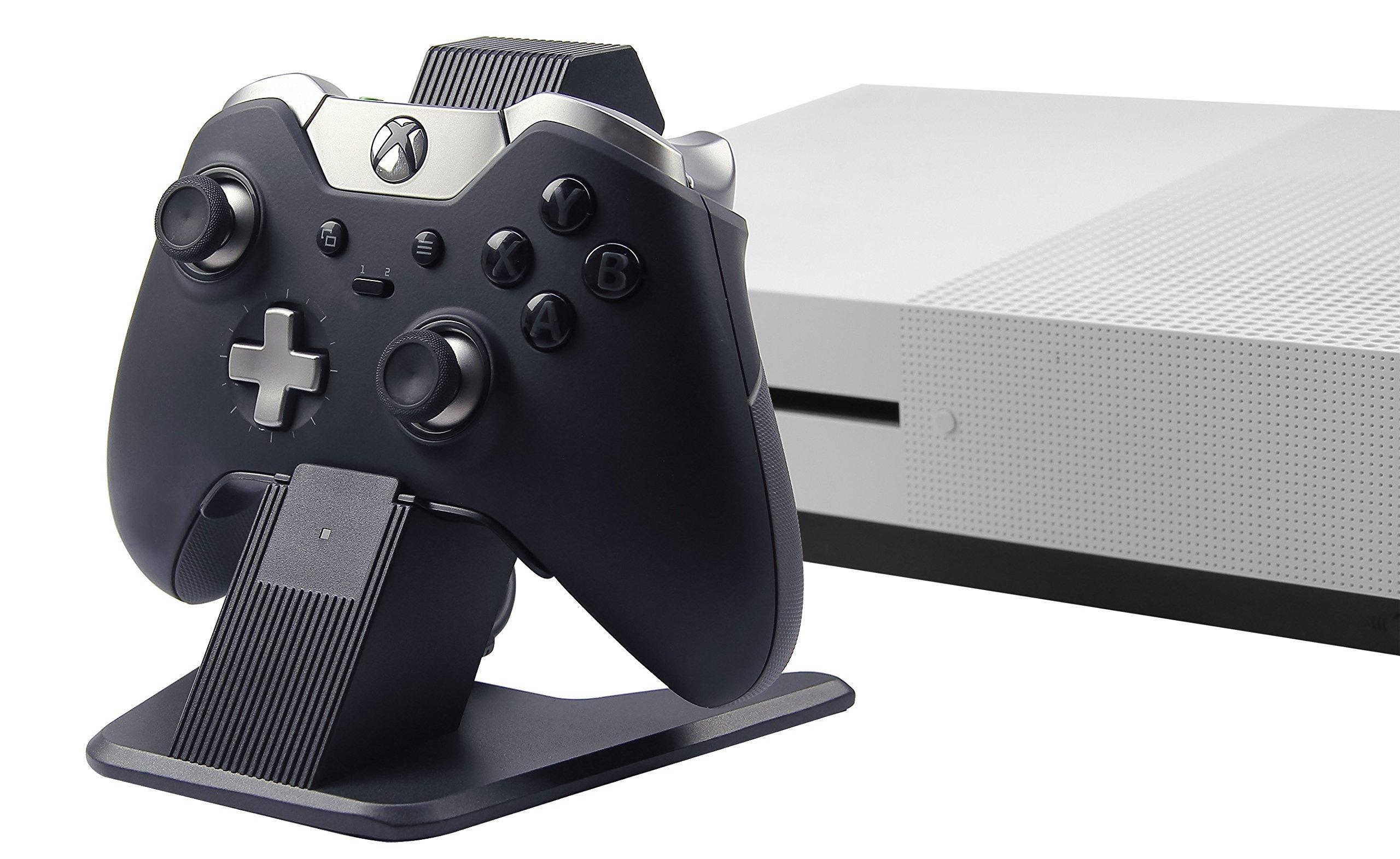 AmazonBasics Station de charge en aluminium pour manettes de Xbox One, Xbox One S et Xbox One X, Noir