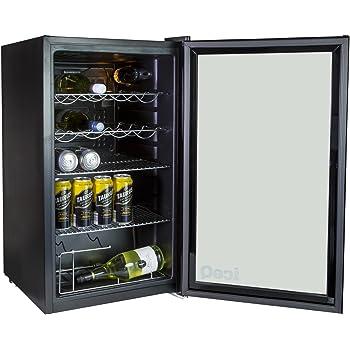Iceq 93 Litre Under Counter Glass Door Display Fridge Amazon