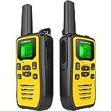 Profesionales Walkie Talkie PMR USB Recargable, Walky Talky Adultos Niños, 8 Canales de Escaneo VOX Transmisores-receptores R