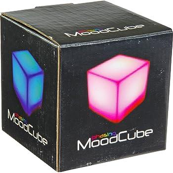 Mood Cube Single LED Light Colour Changing Night Glow Atmosphere Enhancer