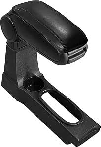 Pro Tec Mittelarmlehne Armauflage Mit Staufach Gepolstert Textil Schwarz Auto
